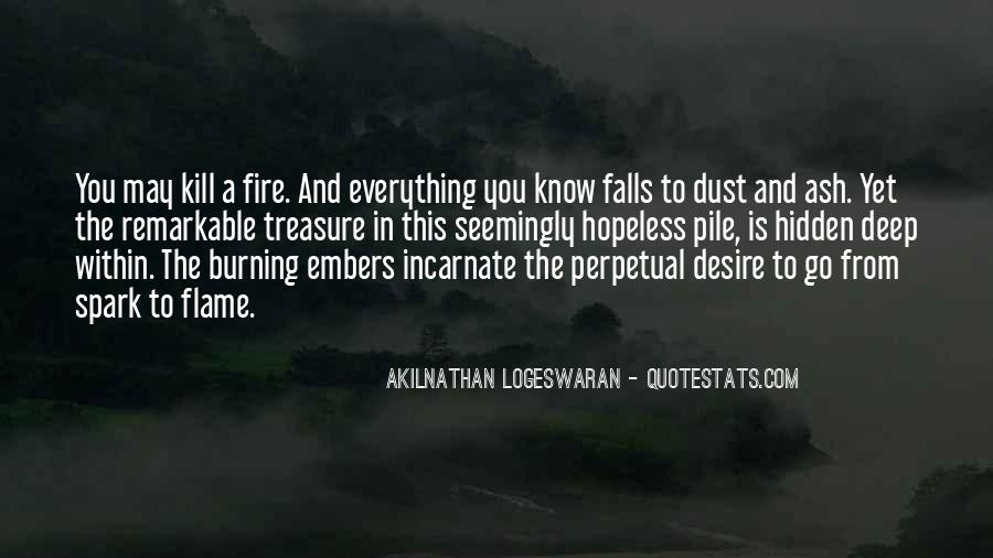 Quotes About Embers #449416