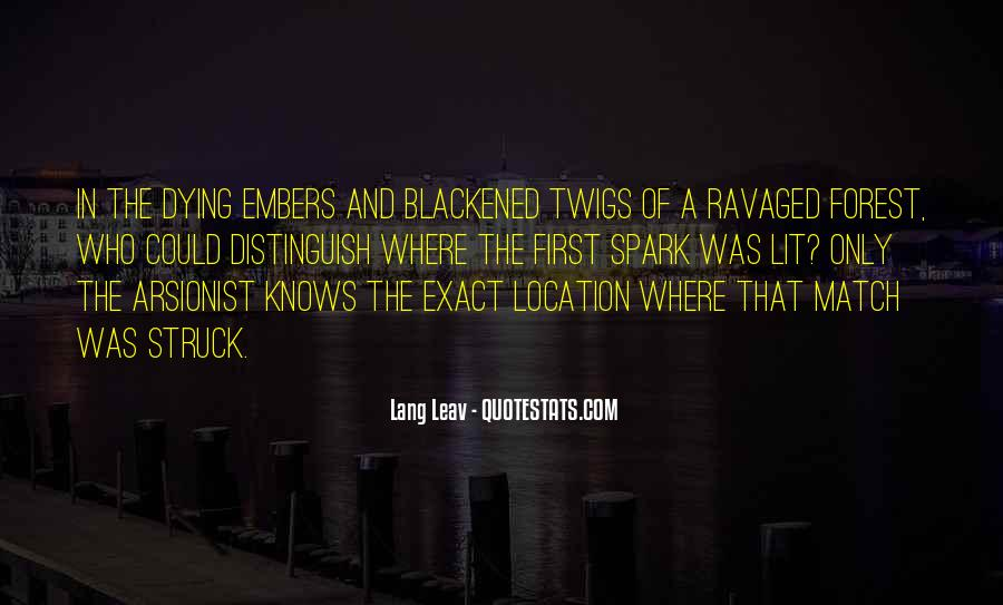 Quotes About Embers #494779
