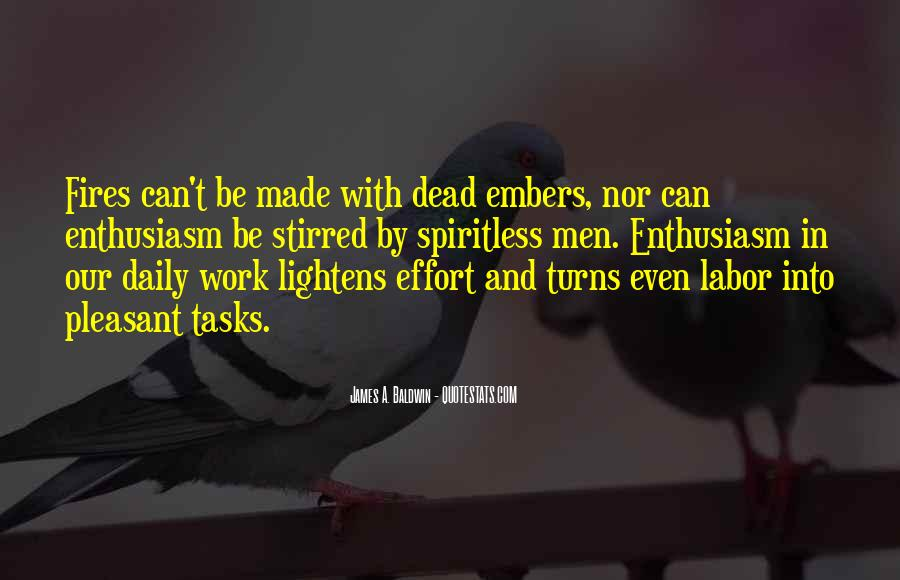 Quotes About Embers #888437