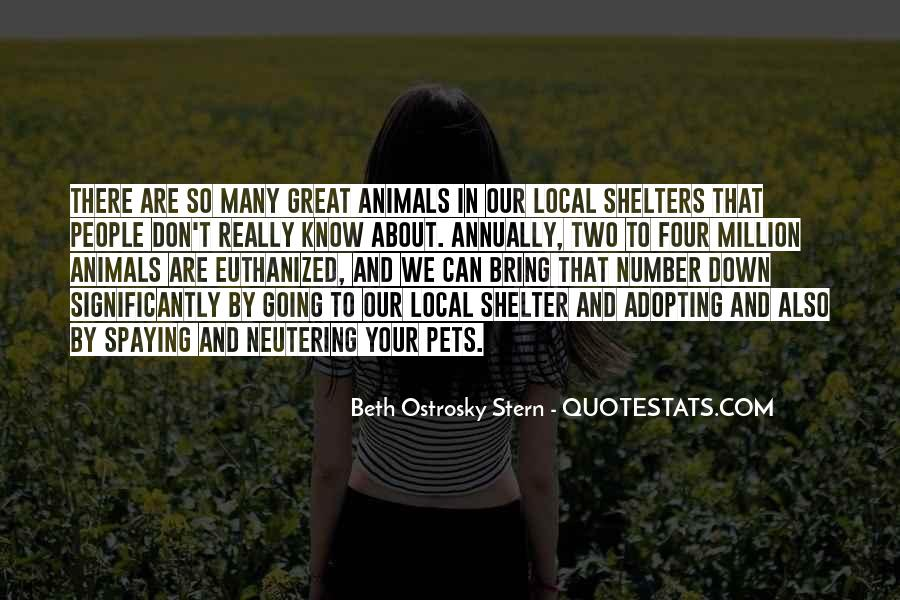 Quotes About Shelter Pets #1759692