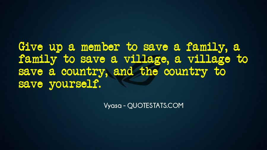Quotes About Giving Up On A Family Member #1755479