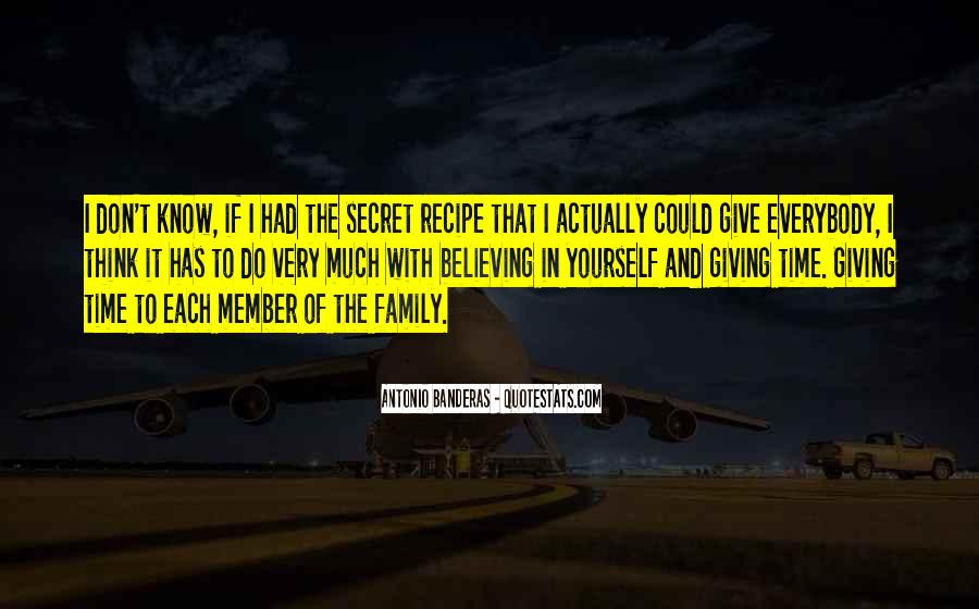 Quotes About Giving Up On A Family Member #676795