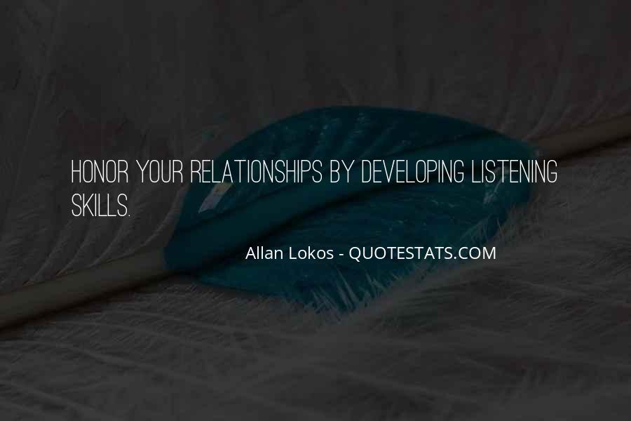 Quotes About Listening Skills #1161388