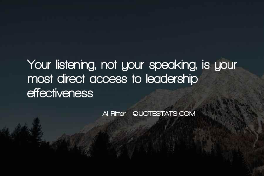 Quotes About Listening Skills #1189776