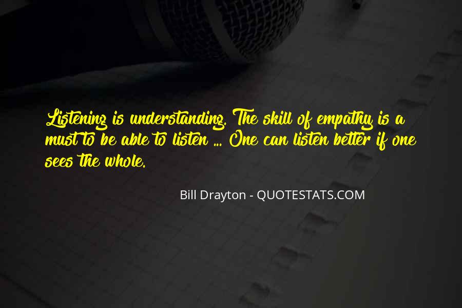 Quotes About Listening Skills #1426563