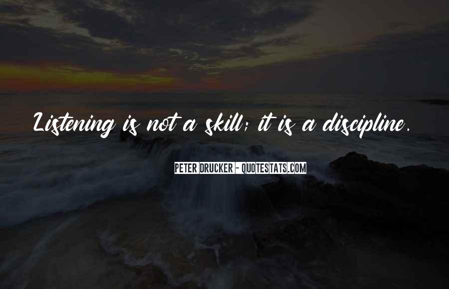 Quotes About Listening Skills #1448504