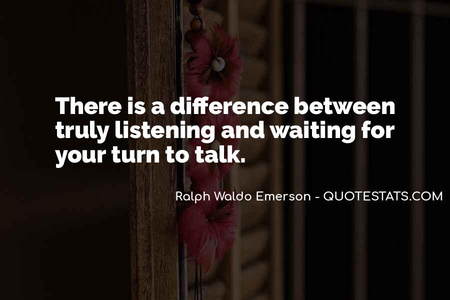 Quotes About Listening Skills #155062