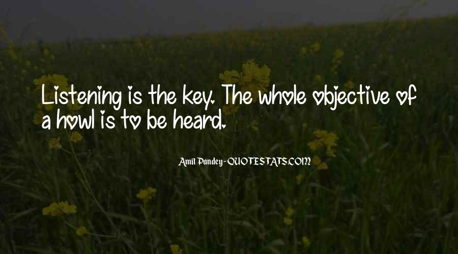 Quotes About Listening Skills #168398