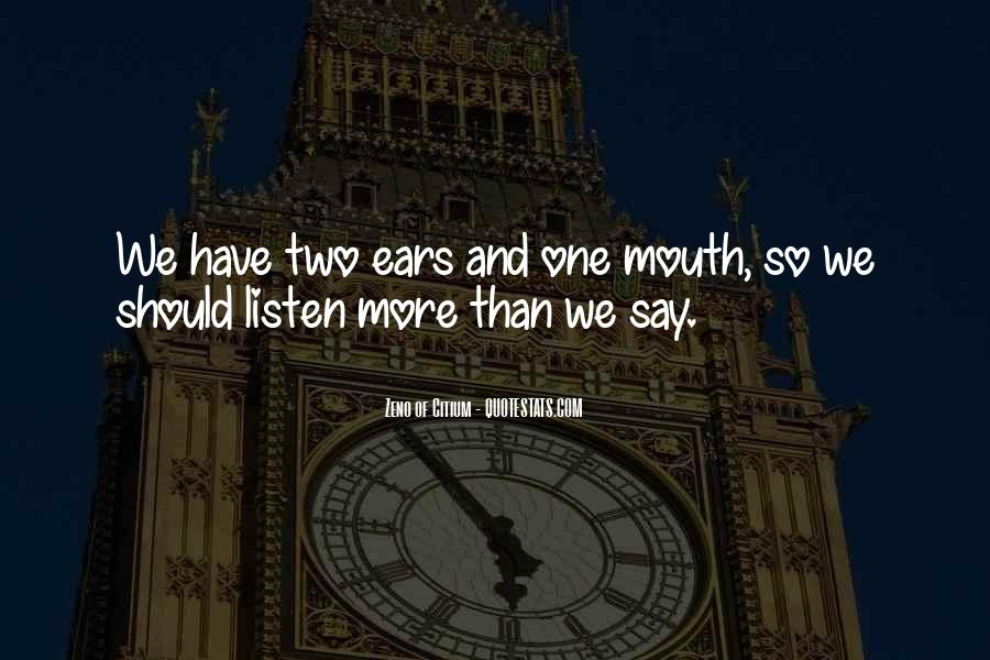 Quotes About Listening Skills #1831118