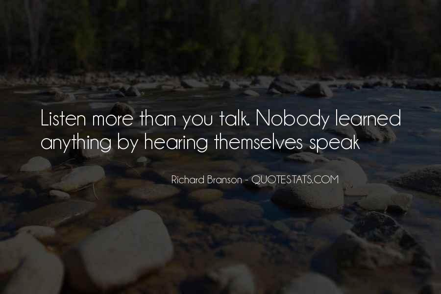 Quotes About Listening Skills #301058