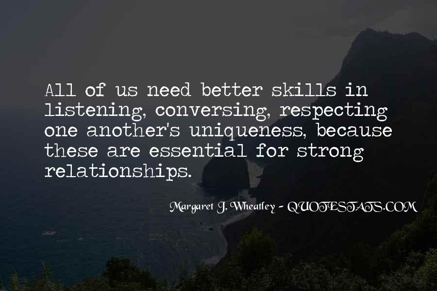 Quotes About Listening Skills #477798