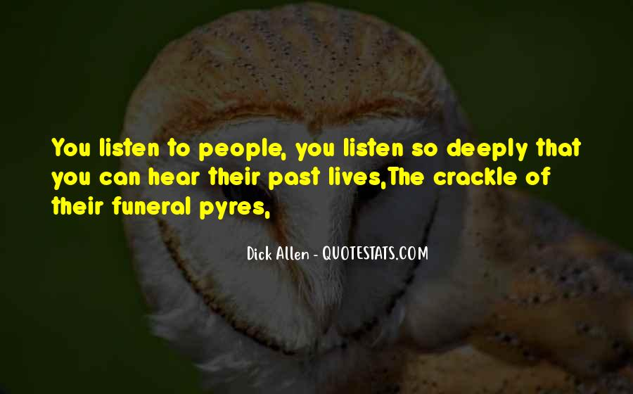 Quotes About Listening Skills #67647