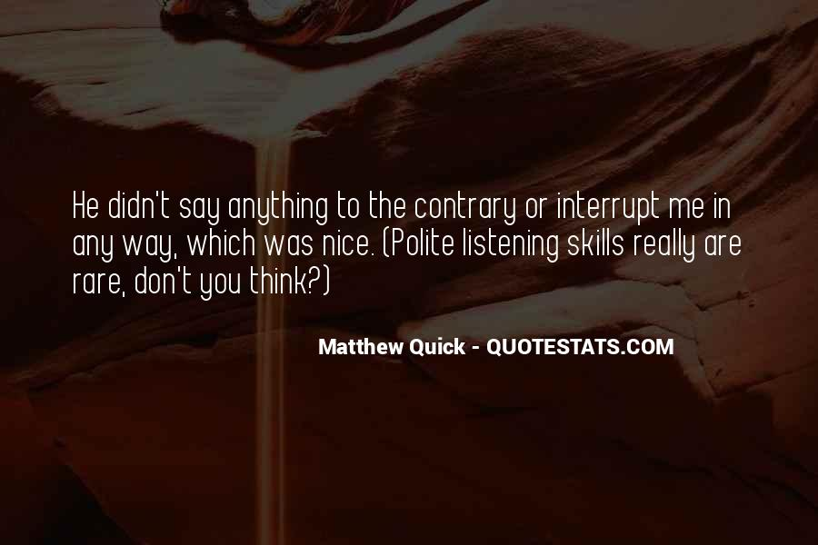 Quotes About Listening Skills #998440