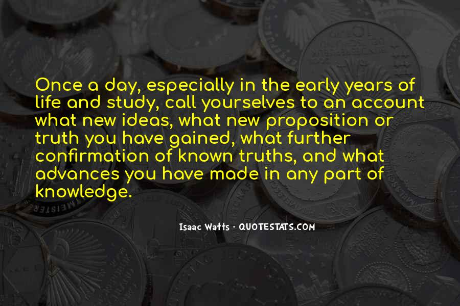 Quotes About Early Years Of Life #1433433