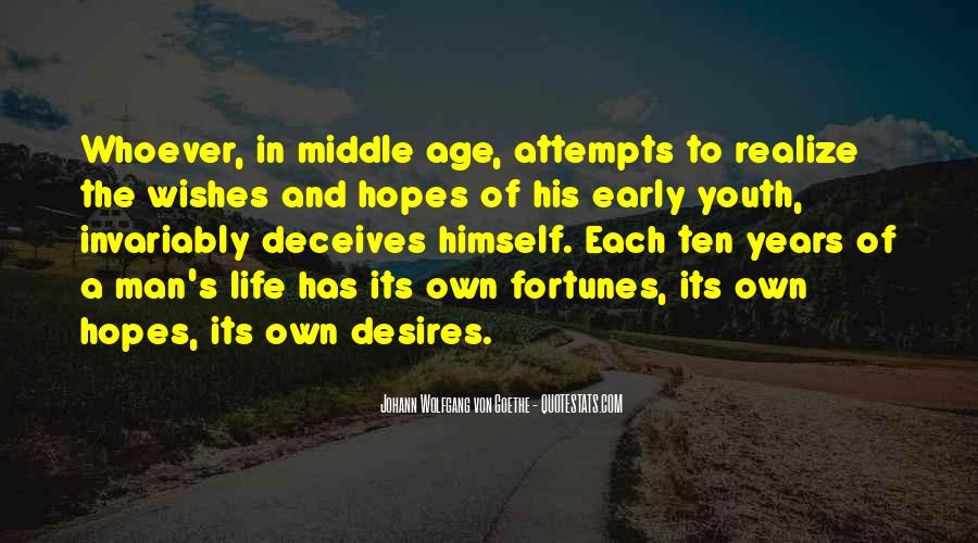 Quotes About Early Years Of Life #1720977