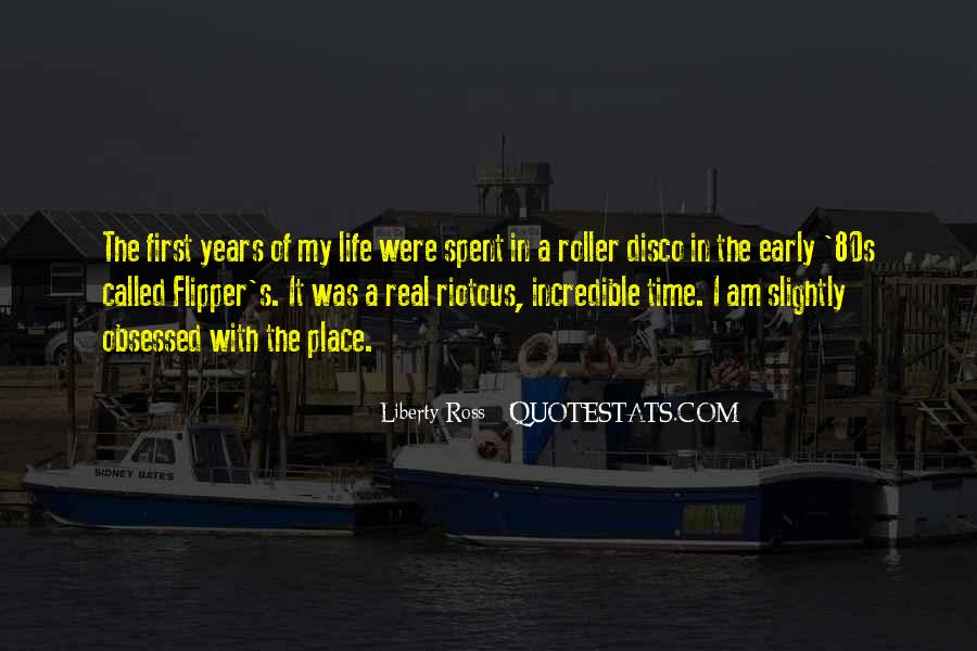 Quotes About Early Years Of Life #447549