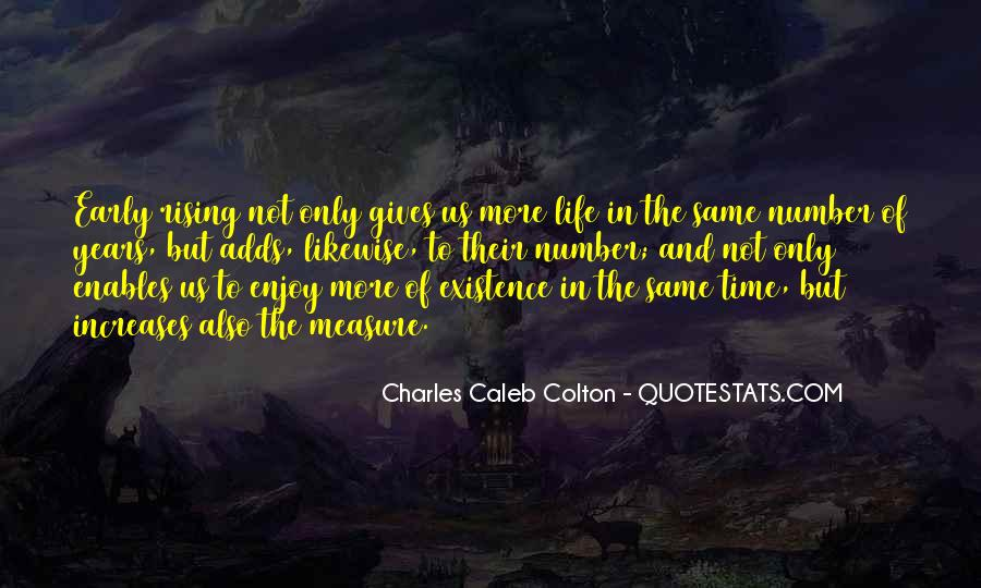 Quotes About Early Years Of Life #612651