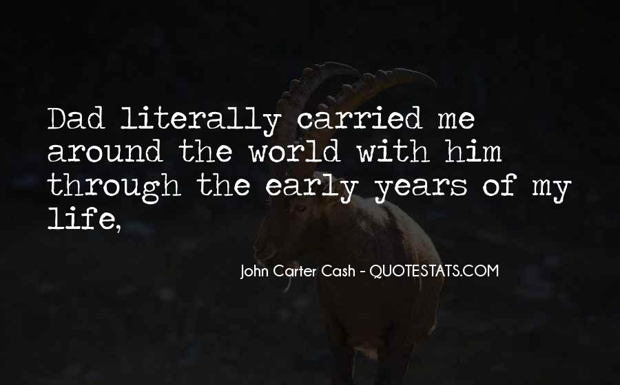 Quotes About Early Years Of Life #752572