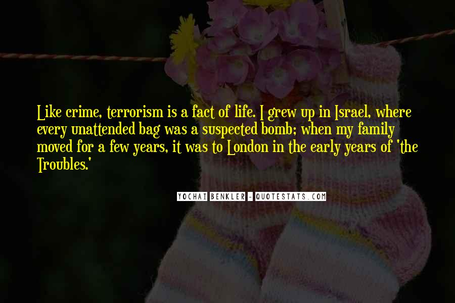 Quotes About Early Years Of Life #903693