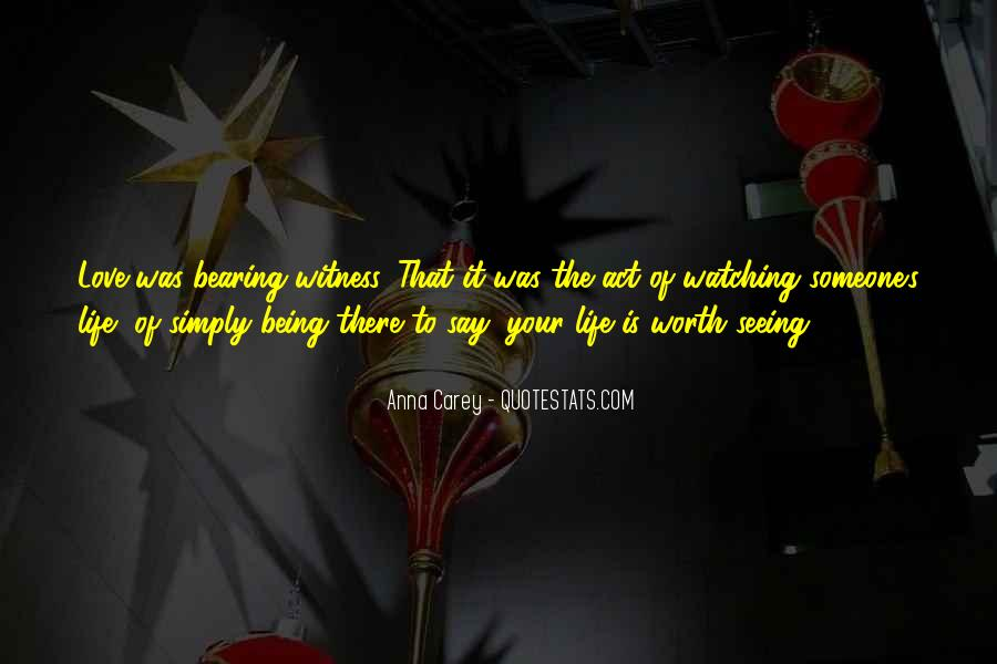Quotes About Not Seeing Your Worth #776351