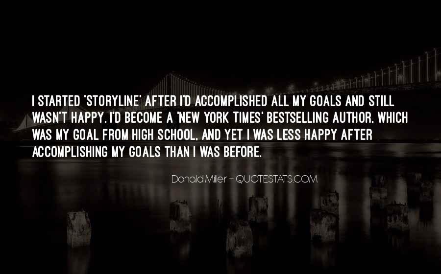 Quotes About Goals In School #581794