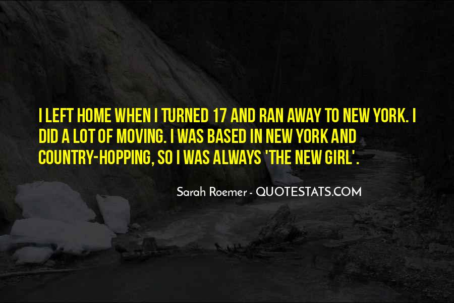 Quotes About Moving Far Away #92092