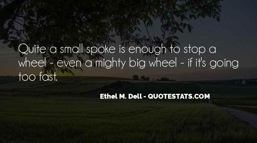 Quotes About Small But Mighty #1196829