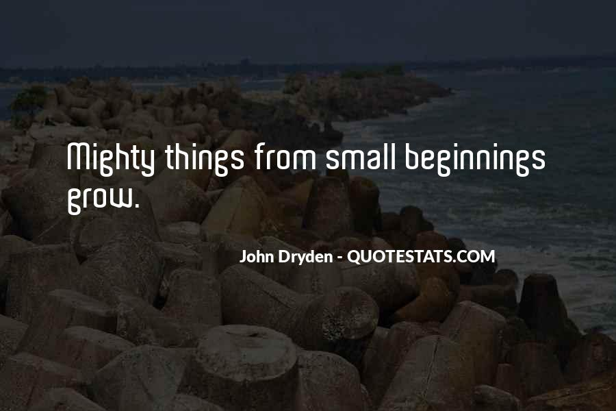 Quotes About Small But Mighty #1523293