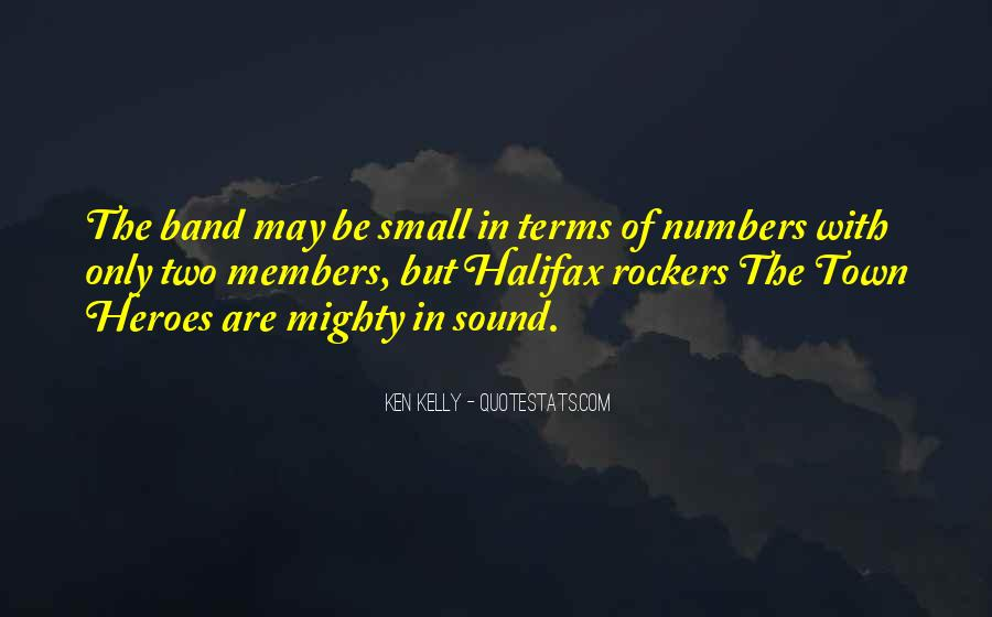 Quotes About Small But Mighty #617626