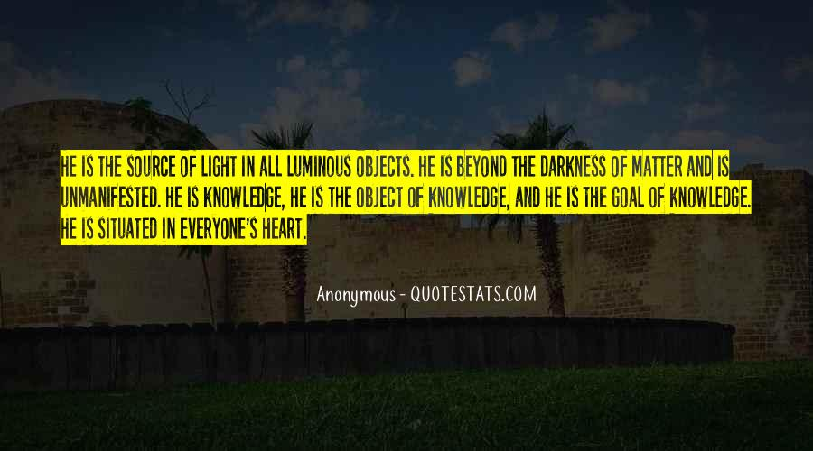 Quotes About Darkness In The Heart Of Darkness #1820646