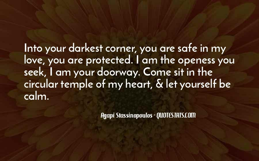 Quotes About Darkness In The Heart Of Darkness #291955