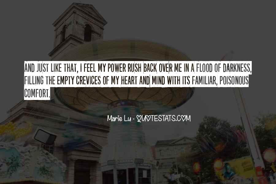 Quotes About Darkness In The Heart Of Darkness #298401