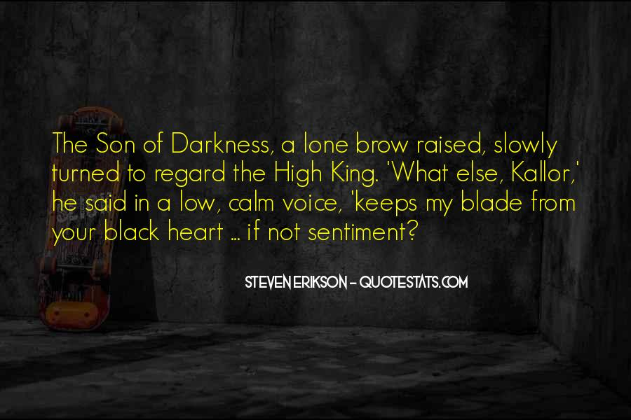 Quotes About Darkness In The Heart Of Darkness #564940