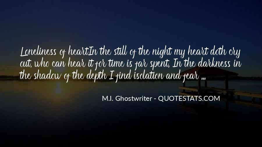 Quotes About Darkness In The Heart Of Darkness #72283