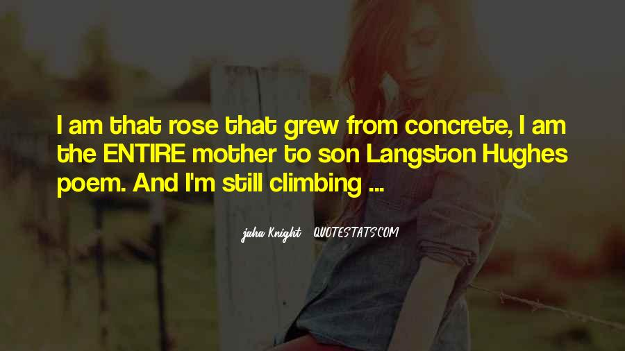 Quotes About The Rose That Grew From The Concrete #108208