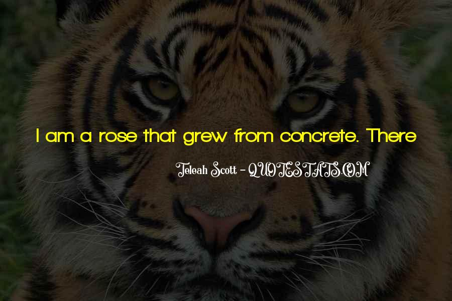Quotes About The Rose That Grew From The Concrete #1269626