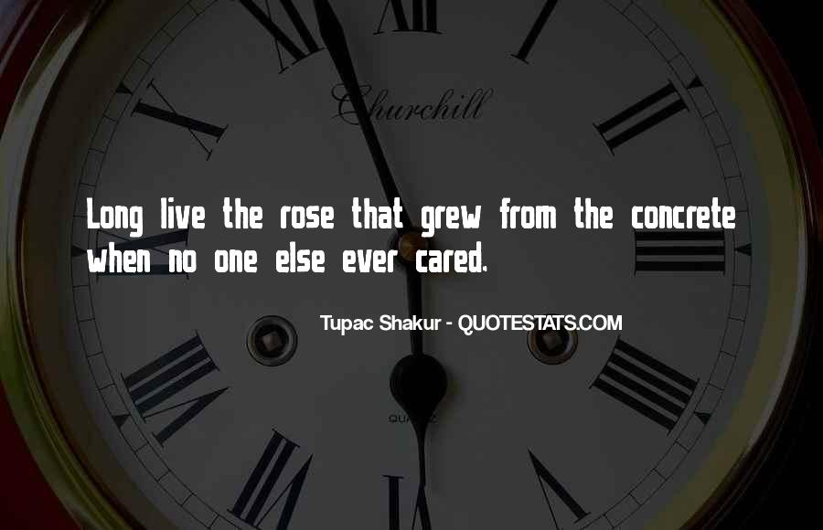 Quotes About The Rose That Grew From The Concrete #1564349