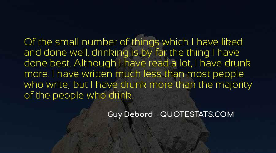 Quotes About Drinking And Writing #134634