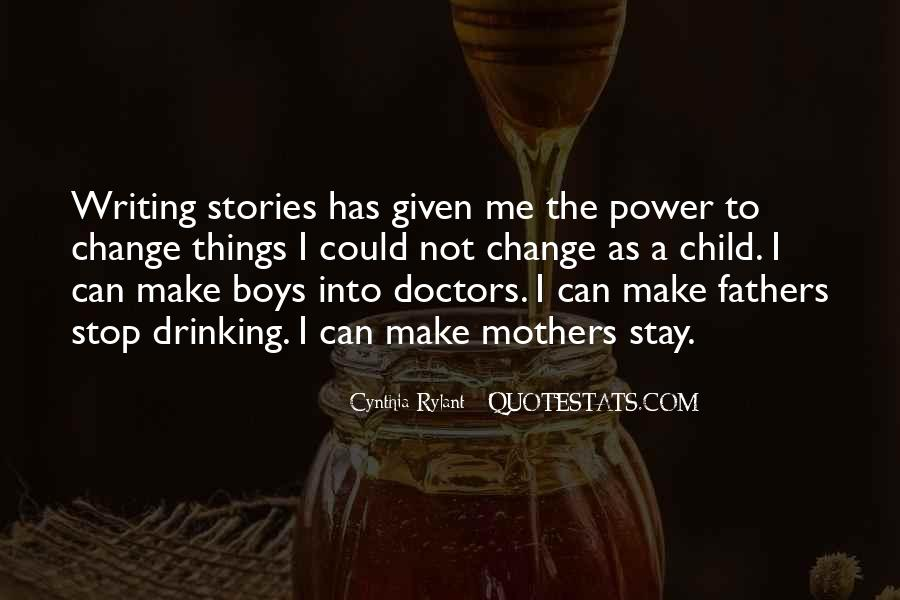 Quotes About Drinking And Writing #98555