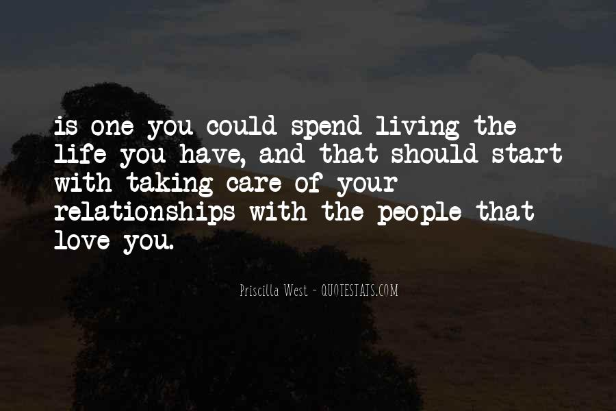 Quotes About Life And Relationships #121568