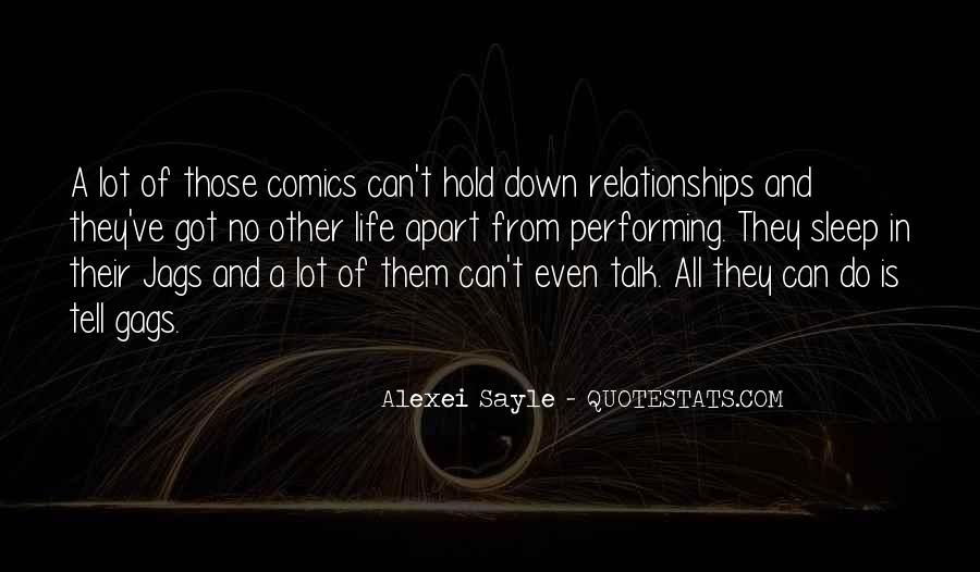 Quotes About Life And Relationships #198718