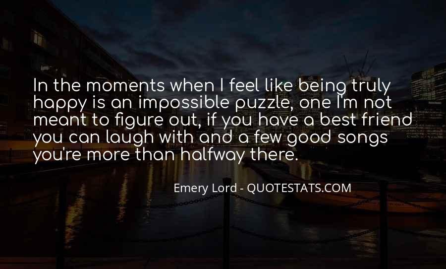 Quotes About Being Happy When Times Are Hard #1236531