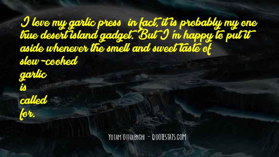 Quotes About Taste And Smell #1115021