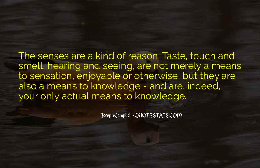 Quotes About Taste And Smell #1204013