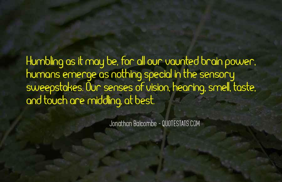 Quotes About Taste And Smell #1295815