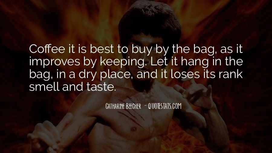Quotes About Taste And Smell #1330516