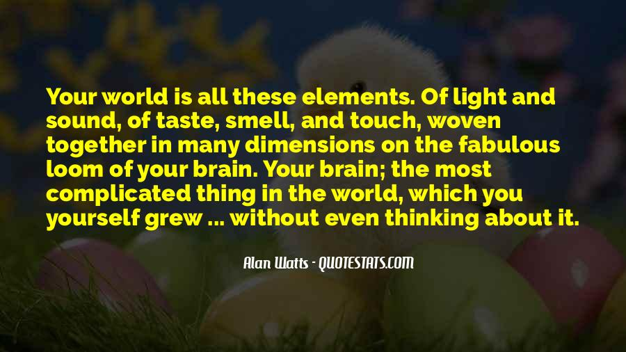 Quotes About Taste And Smell #1331921
