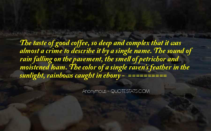 Quotes About Taste And Smell #1388217