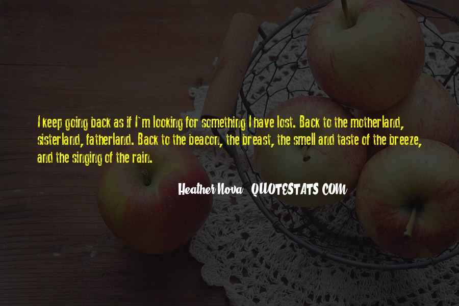 Quotes About Taste And Smell #1433375