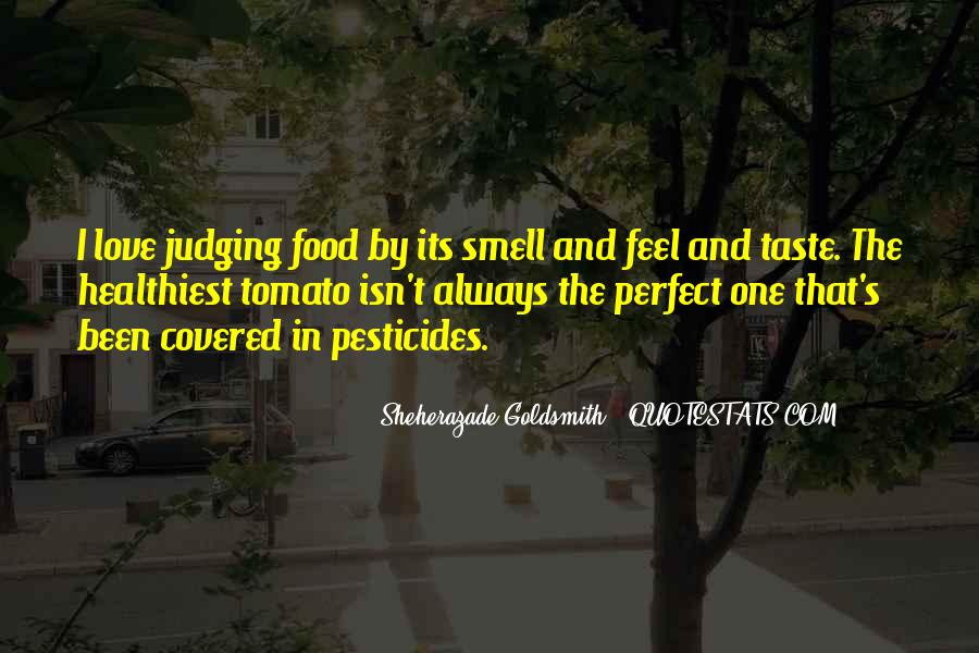 Quotes About Taste And Smell #57993